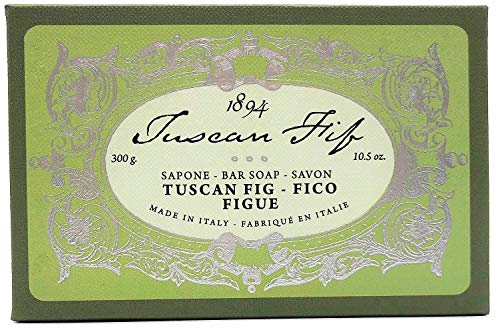 - Alighiero Campostrini Tuscan Extra Fine Bath Bar Soap Made in Italy 10.5 ounces (Tuscan Fig)