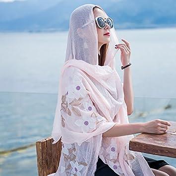 SED Bufanda-Mujer Toalla de Playa Bufanda Bufanda Bufanda Bufanda Protector Solar Bufanda de Cachemir