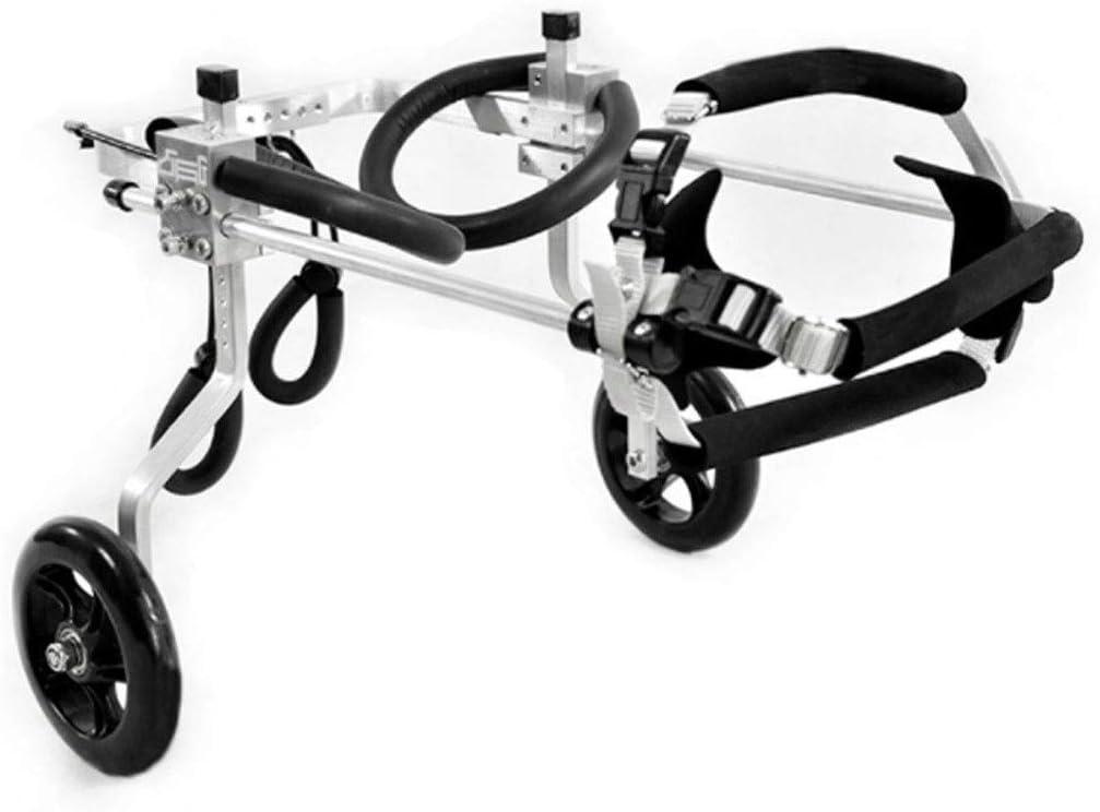 Silla de ruedas para perros ajustable Perro silla de ruedas, Hind ...