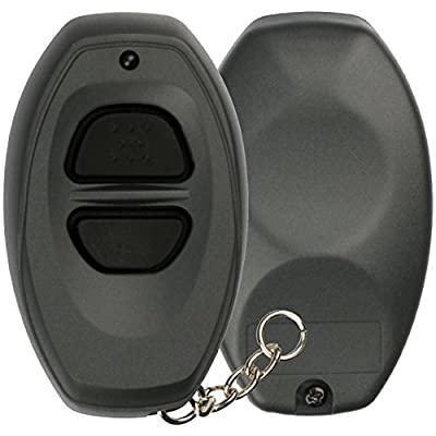 KeylessOption Just the Case Key Fob Keyless Entry Remote Shell Button Pad: Automotive