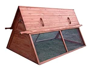 Large Chicken Coop, Portable, for 5 to 7 Hens