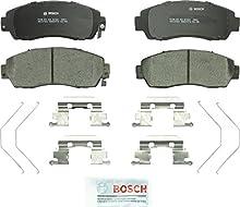 Bosch BC1521 QuietCast Premium Ceramic Disc Brake Pad Set For: Honda Crosstour, CR-V, Odyssey; Subaru Legacy, Front