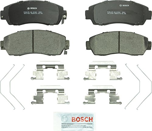 Bosch BC1521 QuietCast Premium Ceramic Disc Brake Pad Set For: Honda Crosstour, CR-V, Odyssey; Subaru Legacy, Front