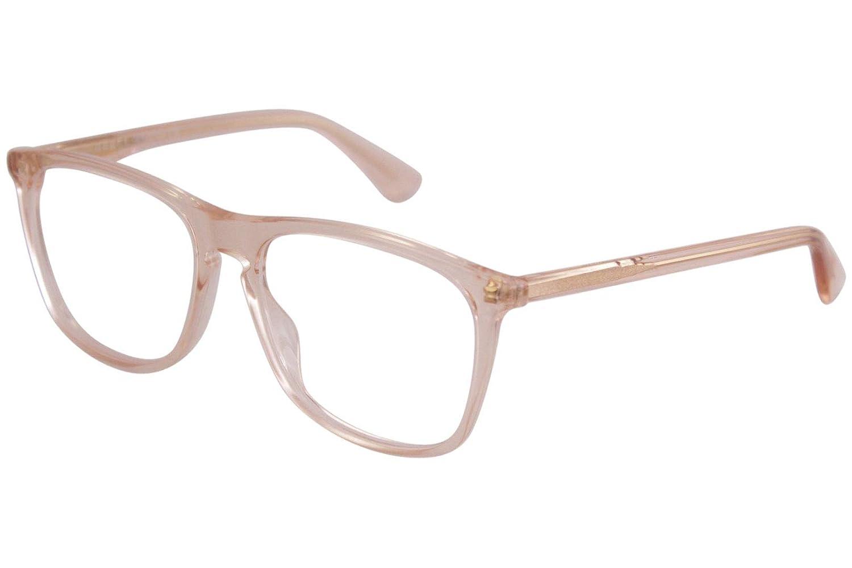 c51ef95590996 Amazon.com  Gucci GG0332O Eyeglasses 007 Orange Orange 56 mm  Clothing