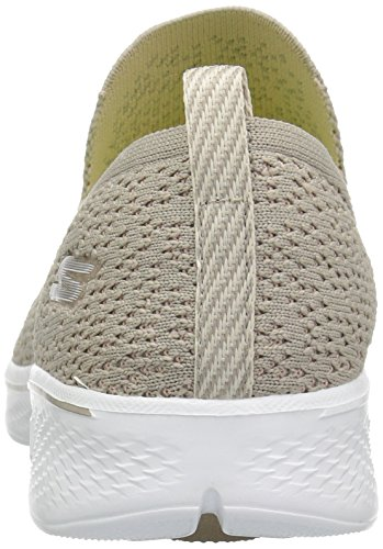 Hombre Taupe Skechers Mujer 14918 Zapatillas q0x7X67t