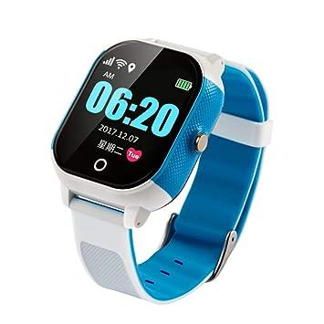 Smartwatches Reloj Inteligente GPS Tracker Impermeable niños Reloj ...