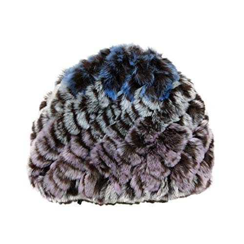EnjoCho 2018 Lady Winter Faux Rabbit Fur Hat Women Girl Cap Warm Soft Knitted Skullies Beanies ()