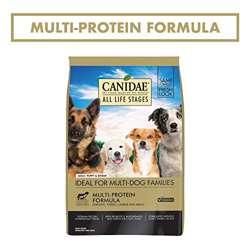 CANIDAE All Life Stages, Premium Dry Dog Food, Multi-Protein Recipe, 30 lb