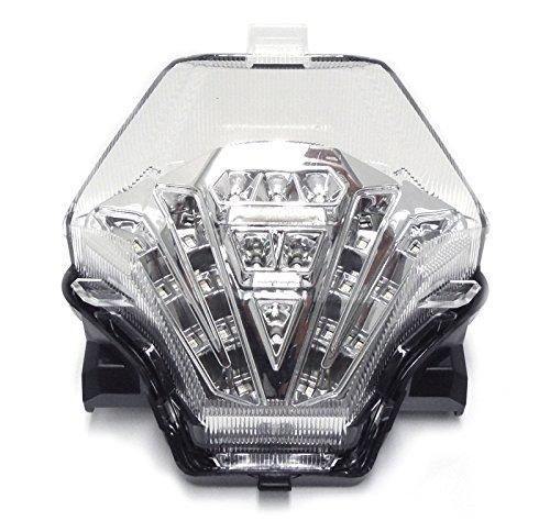 - 2015-2017 Yamaha FZ07 2015-2019 Yamaha YZF-R3 Clear Integrated LED Tail Light