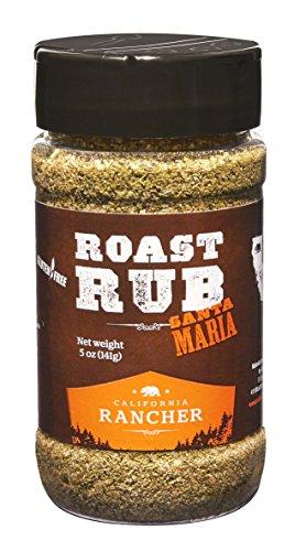Roast Rub Dry Rub Seasoning by California Rancher - GMO free - steak seasoning, 5 (Roast Rub)