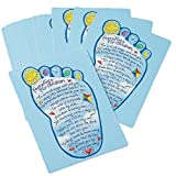 Prensa de la Abadía 6,35 cm x 8,89 cm huellas para los niños Tarjeta de oración (32683)