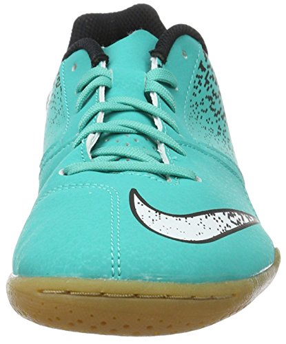 Nike Bombax IC, Scarpe da Calcio Uomo Turchese (Clear Jade/White-black)