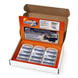 #4: Gillette Fusion Manual Men's Razor Blade Refills, 12 Count