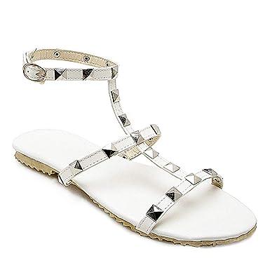 Chaussures Gtagain Sandales Salomé Femme De Plate N0OPX8nkw
