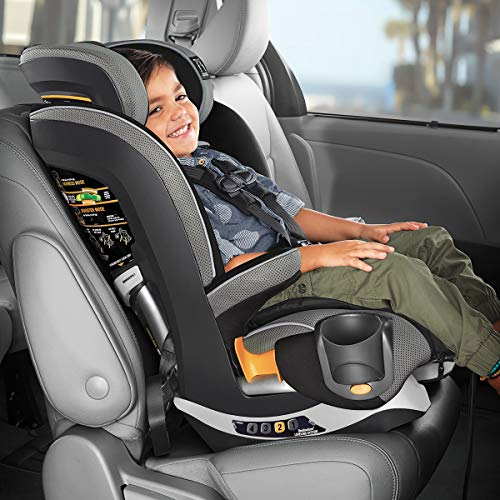Chicco MyFit Zip Harness + Booster Car Seat - Granite, Grey