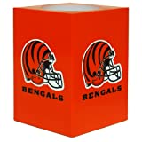 The Northwest Company NFL Cincinnati Bengals Square Flameless Candle