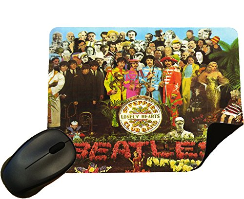 (Beatles Sgt Peppers Album cover Mouse Mat / Pad - By Eclipse Gift Ideas)