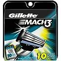 10-Count Gillette Mach3 Men's Razor Blade Refills