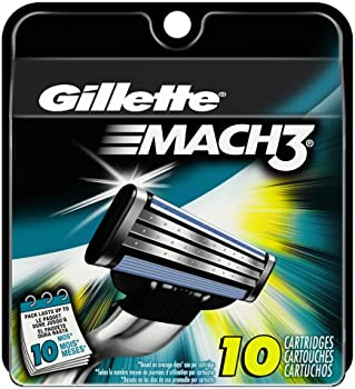 Gillette Mach3 Men's Razor Blade Refills (10 Count)