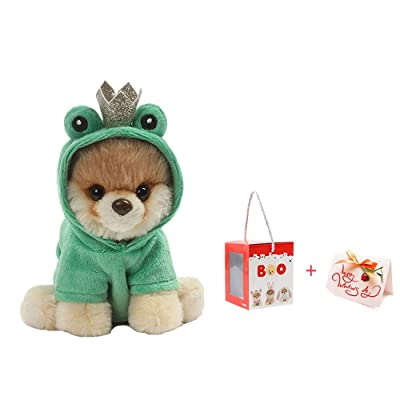 XSLY Fine Mini Dog Plush Toy Dog Soothing Toys Creative Simulation Ragdoll Cute Soft Toys with Clothes Decor Baby Doll Toy Kids Playmate Puppet Gift (Color : H, Size : 22m): Home & Kitchen [5Bkhe0303803]