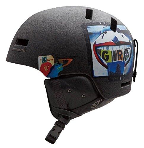 Shiv Snow (Giro Shiv 2 Snowboard Ski Helmet Matte Clear Boardwalk Medium)