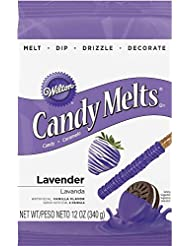 Wilton 1911-1512 Candy Melts, 12-Ounce, Lavender