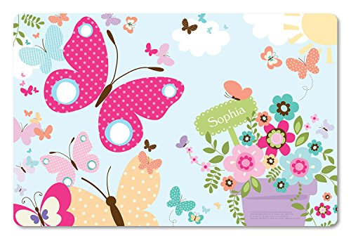 Personalized Placemat Craft Mat Butterflies