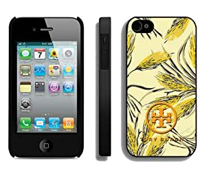 Fashionable And Unique Designed Case For iPhone 4 With Tory Burch 53 Black Phone Case