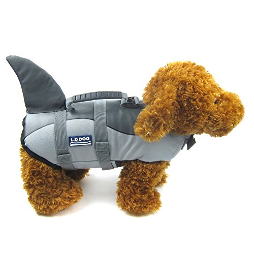 (Alfie Pet - Reagan Shark Pet Life Jacket - Size: Small)