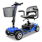 Furgle 4 Wheel Electric Scooter for Seniors Adult Power Mobility Scooter Heavy Duty Travel Scooter