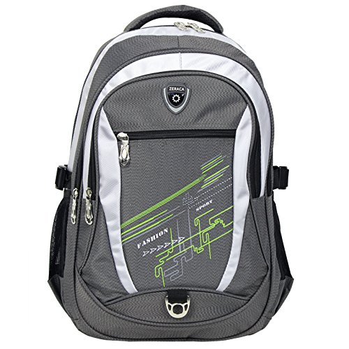 Zeraca Laptop Backpack Elementary College