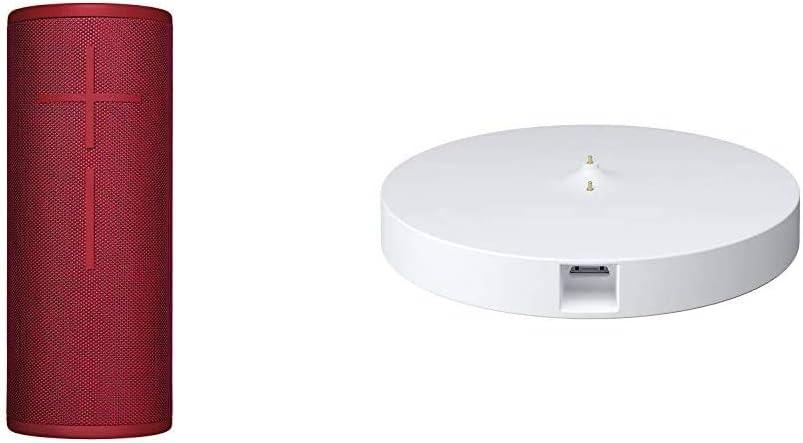 Ultimate Ears Boom 3 Bluetooth Lautsprecher Wasserdichter 360 Sound Bengalrot Power Up Ladestation Audio Hifi
