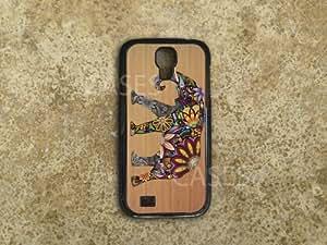 SAMSUNG Galaxy S4 Case BEST Elephant on WOOD Custom Designer Cute Unique COOL...