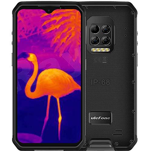 Ulefone Armor 9(2020) Rugged Phones Unlocked, Thermal Imaging Scanner Camera Rugged Cell Phones 64MP IP68 Waterproof,8GB+128GB, Android 10,6.3-inch, 6600mAh Dual Sim 4G Rugged Smartphones