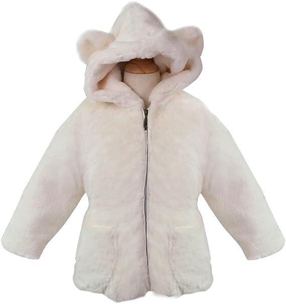 Stesti Winter Coat for Baby Girl Winter Bear Ears Hooded Winter Coat for Baby Boy