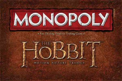 Monopoly: The Hobbit Trilogy Edition Trilogy Monopoly