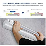 (15 Pack) Emergency T8 LED Tube Light with Battery