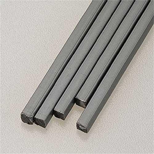 Plastruct 90351 Square Rod ABS 1/8