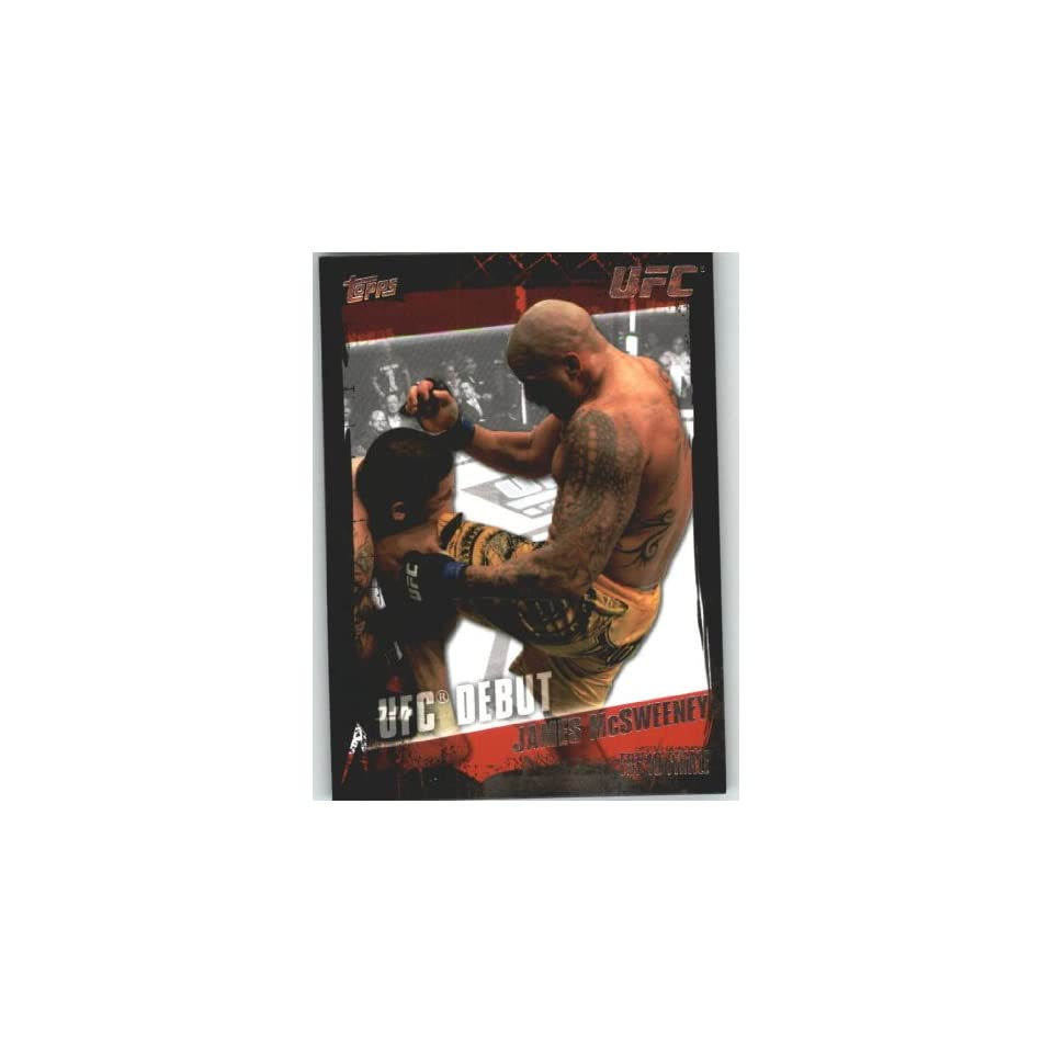2010 Topps UFC Trading Card # 144 James McSweeney (Ultimate