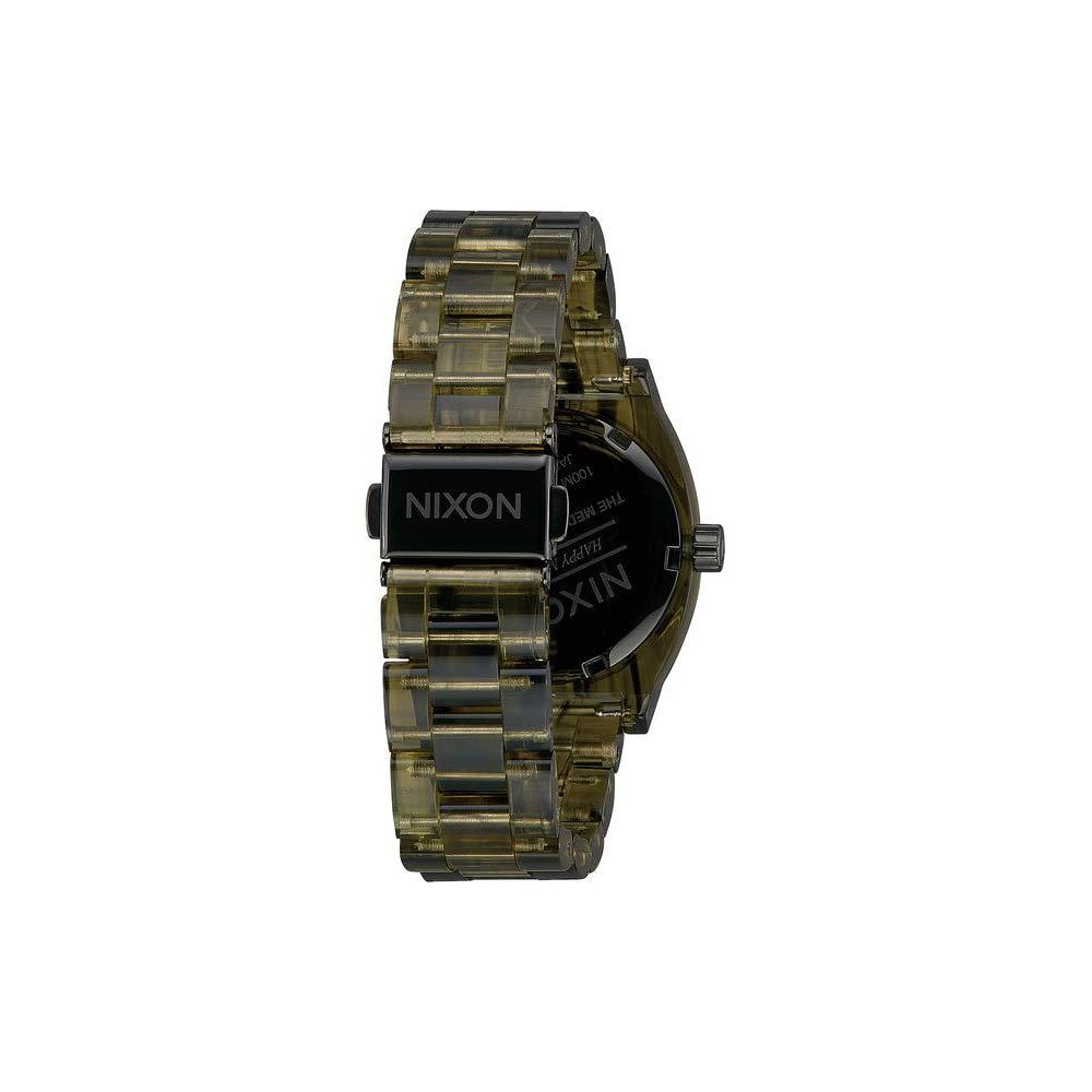 Ladies' Nixon Medium Time Teller Lavender Dial Stainless Steel Bracelet A11302878