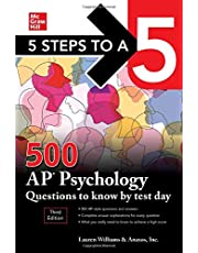5 Steps to a 5: 500 AP Psychology Questions to Know by Test