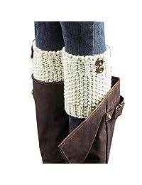 FEITONG Winter Warm Women Leg Warmers Socks Boot Cover