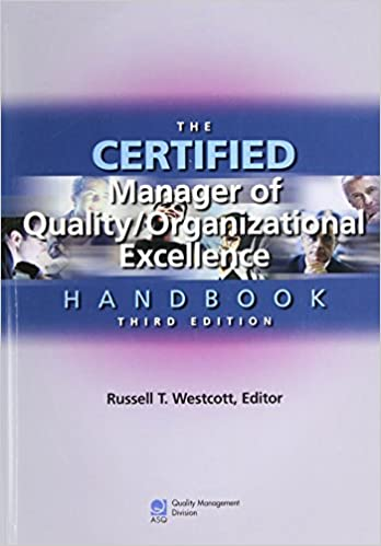 The Certified Manager Of Quality Organizational Excellence