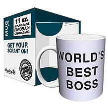 Dunder Mifflin - World's Best Boss - 11oz Mug