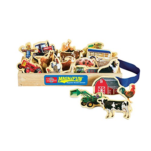 Magnafun Farm Animal Magnetic Farm Set 20 Children's Wooden