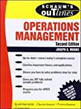 img - for Schaum's Outline of Operations Management book / textbook / text book