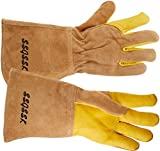 SSGSSK GAUNTLET LEATHER DOG CAT BIRD REPTILE Protect from Dog Cat Bird Parrot Hedgehog Reptile Bites Scratch Wild Animals Protection glove Animal Handling Gloves