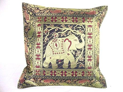 Indian Silk Throw - 5