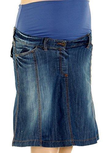 Christoff Dise/ñador Falda de Jeans Mailand f/ácilmente emitidos Mujer Falda Vaquera Moda premam/á 646//93