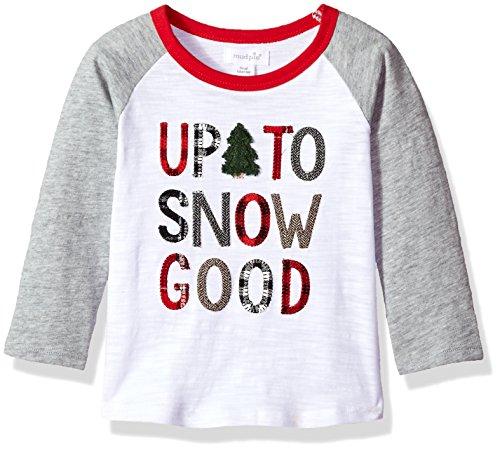 Mud Pie Baby Boys Toddler Camo Long Sleeve Raglan T-Shirt